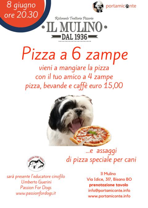 Pizza a 6 zampe