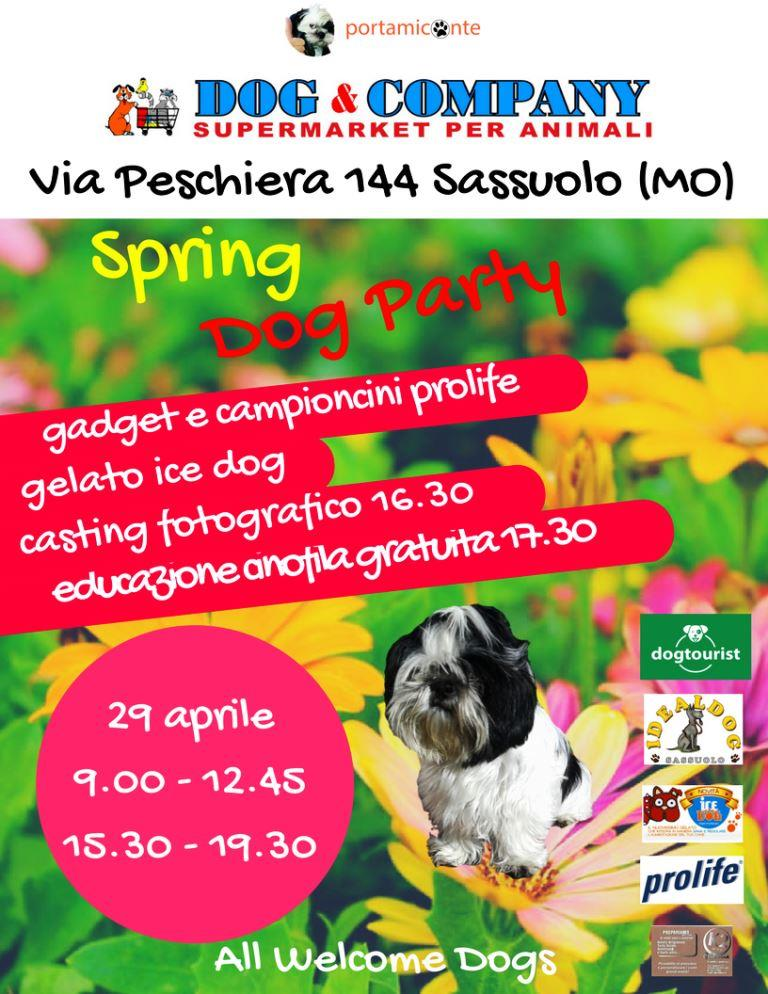 Spring Dog Party