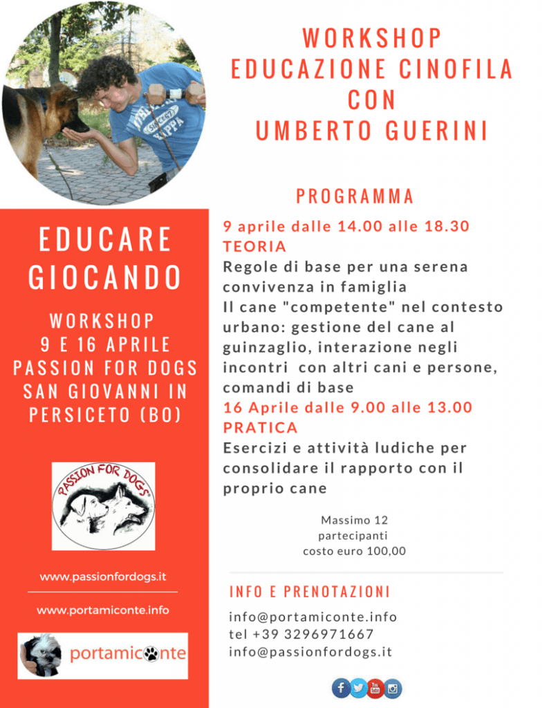 Workshop Educare Giocando
